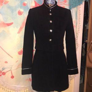 Zara long military coat